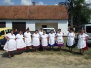 Idősek Klubja tánccsoport 2009-08-08