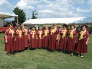 Idősek Klubja tánccsoportja 2009-08-08